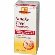 Boericke And Tafel Smoke Free Naturally Homeopathic Tablets - 100 Ea