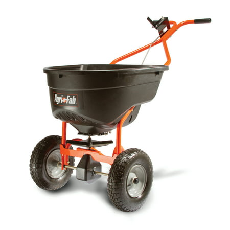 Agri-Fab, Inc. 130 lb. Broadcast Push Spreader Model (Best Push Fertilizer Spreader)