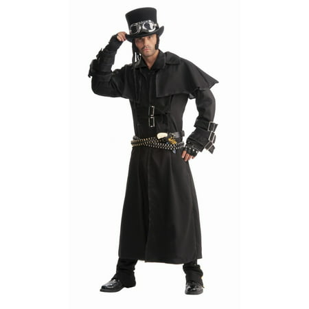 Halloween Steampunk Duster Coat Adult Costume](Halloween Costumes Steampunk)