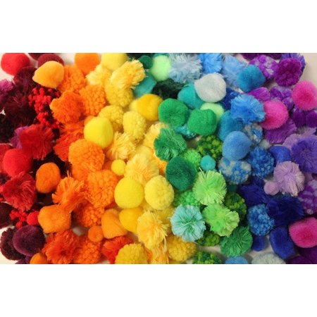 Color Sorting Craft Pom Poms - 6 Color Values - Color Scale Variations for Preschool and Early Childhood Education](Value Craft)