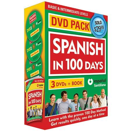 Spanish in 100 Days DVD PK / Spanish in 100 days DVD Pack