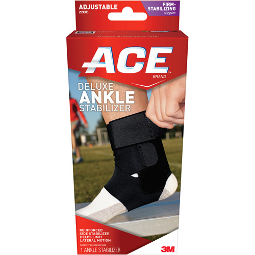 ACE Deluxe Ankle Stabilizer, One Size Adjustable, 209605
