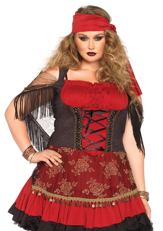plus size woman halloween costume mystic vixen dress, size: 3x | ebay