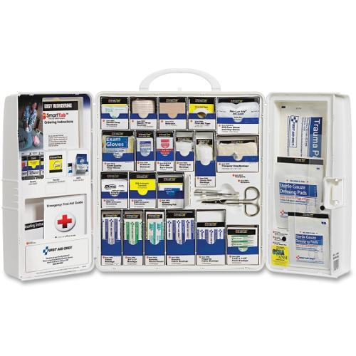 First Aid Only SmartCompliance Large Cabinet Kit - - HeightPlastic Case - 1 Each
