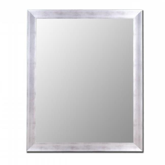 2nd Look Mirrors 200104 42x54 Vintage Silver Mirror by 2nd Look Mirrors