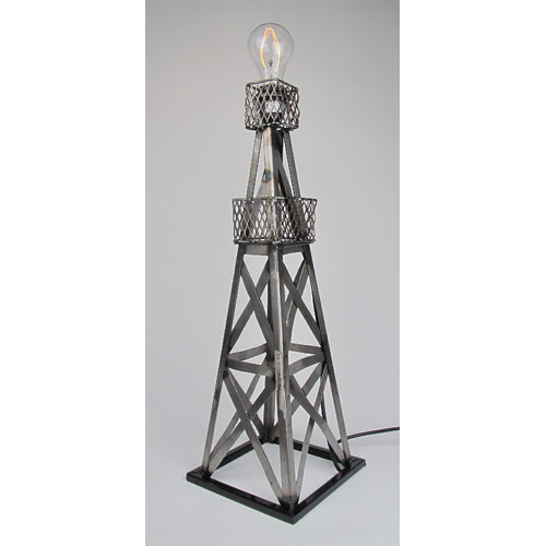 Metrotex Designs Oil Derrick 24'' Table Lamp