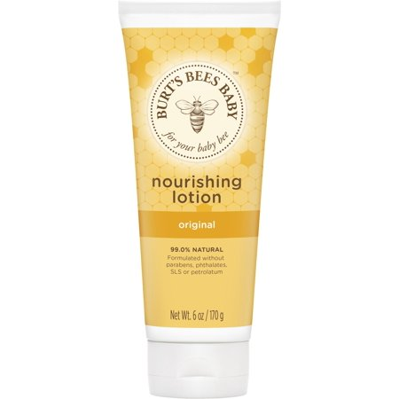 Baby Salve Tube - Burt's Bees Baby Nourishing Lotion, Original Scent Baby Lotion - 6 Ounce Tube