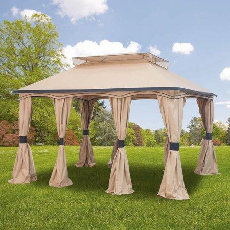 Garden Winds Replacement Canopy Top for Cabana Gazebo - Riplock 350 ()