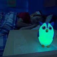 Bright Time Buddies Night Light - - Vintage Night Owl