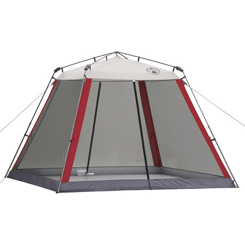 Coleman 10'x10' Slant Leg Instant Canopy/Screen House (100 sq. ft Coverage)