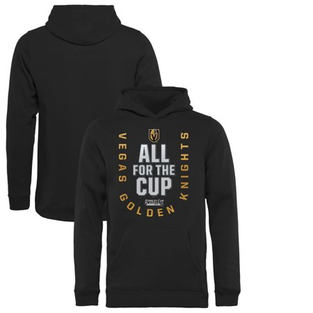 Vegas Golden Knights Fanatics Branded Youth 2018 Stanley Cup Playoffs Bound  Behind The Net Pullover Hoodie - Black - Walmart.com 29a4039a5