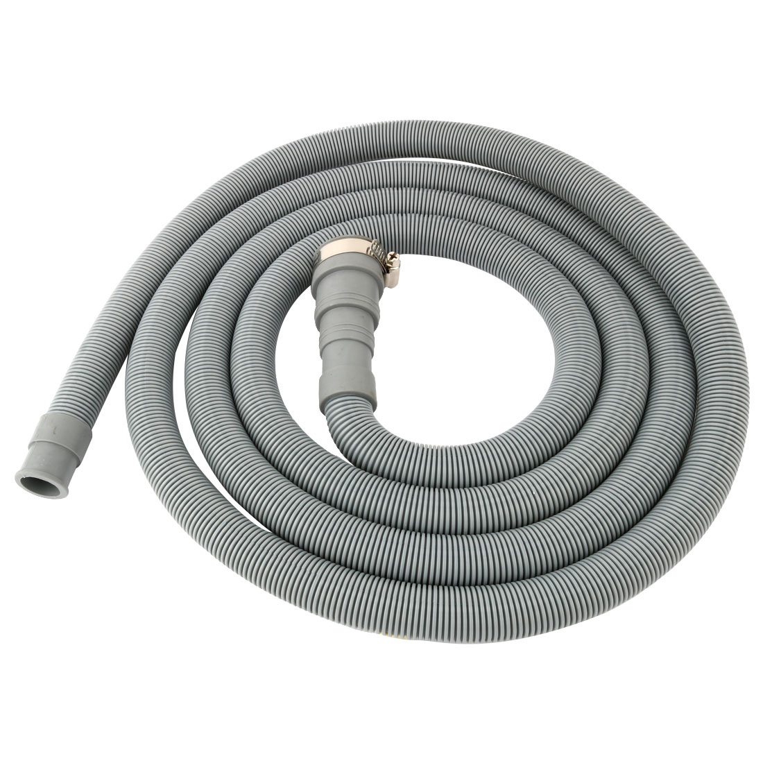 9.8Ft PVC Washing Machine Drain Hose Waster Water Pipe Extension Kit
