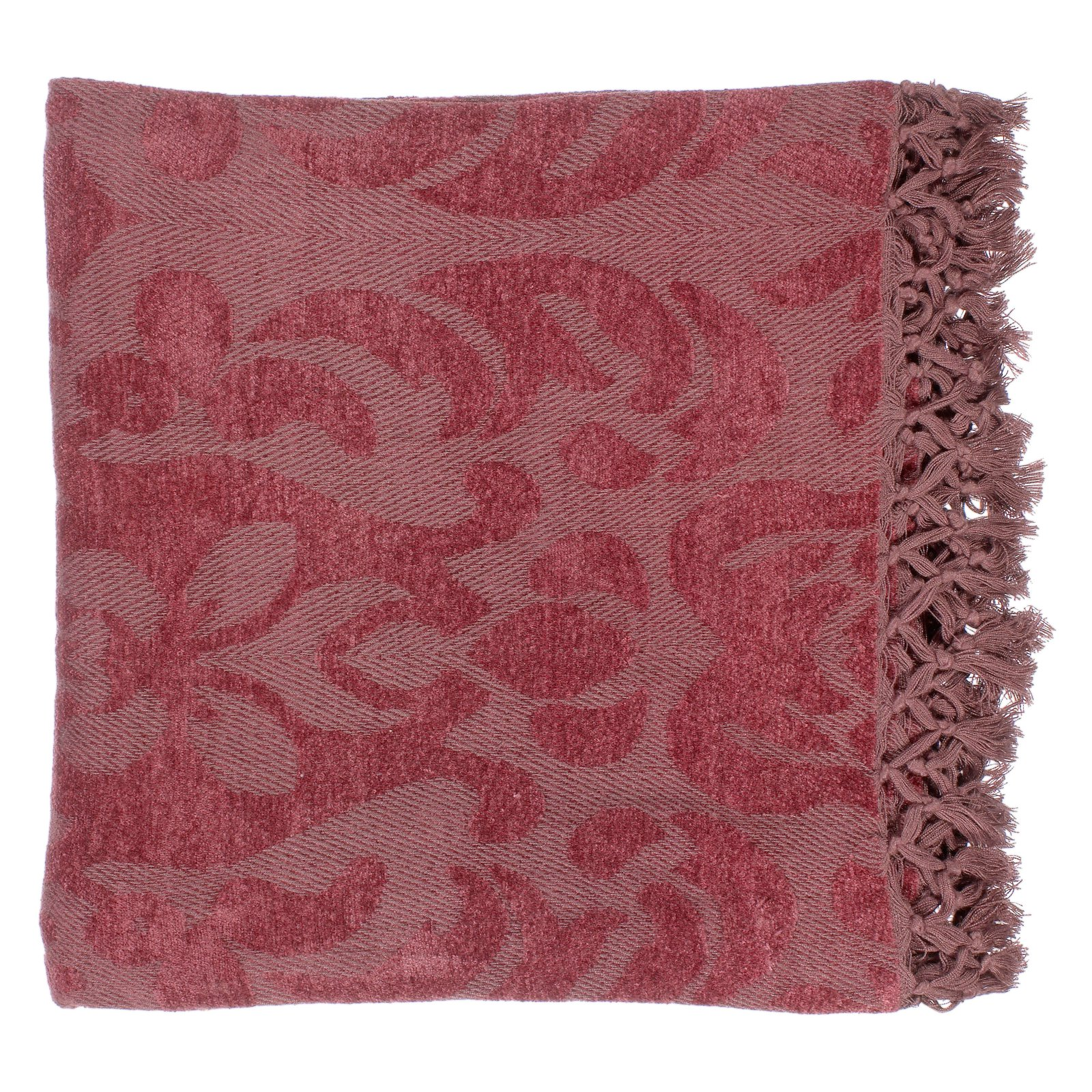 Surya Tristen Viscose Throw Blanket