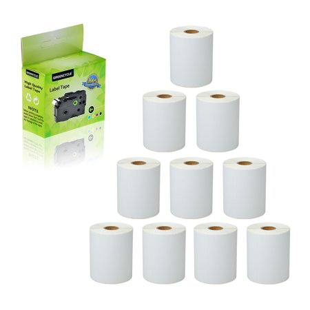 GREENCYCLE 10 Roll (250 Labels/Roll) Compatible Direct Thermal Paper Label 4 x 6 inch 1