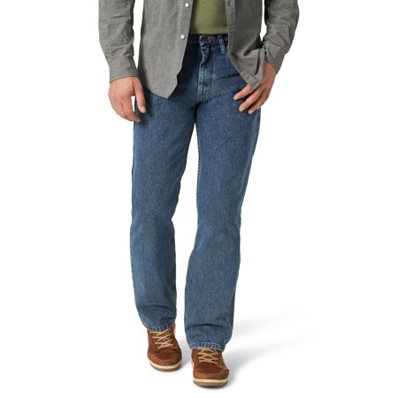 Wrangler Men's Relaxed Fit Jeans (37 Inseam Jeans)