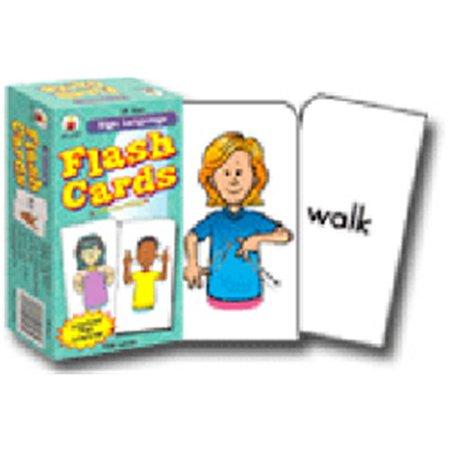 CARSON DELLOSA CD-3927 FLASH CARDS SIGN LANGUAGE - image 1 de 1