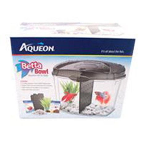 Aqueon supplies 276884 aqueon betta bowl kit 5 gallon for Betta fish tanks walmart