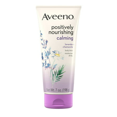 Aveeno Positively Nourishing Calming Lavender Body Lotion, 7 - Body Lotion Lavender
