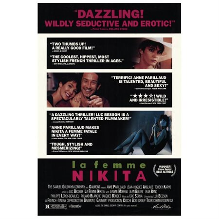 La Femme Nikita POSTER Movie B Mini Promo