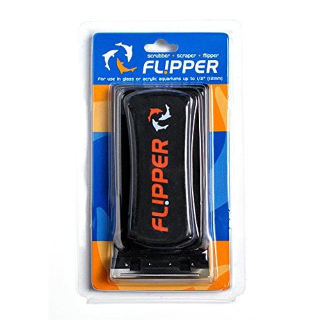 FL!PPER Flipper Aquarium Algae Magnet Cleaner with Two Blades