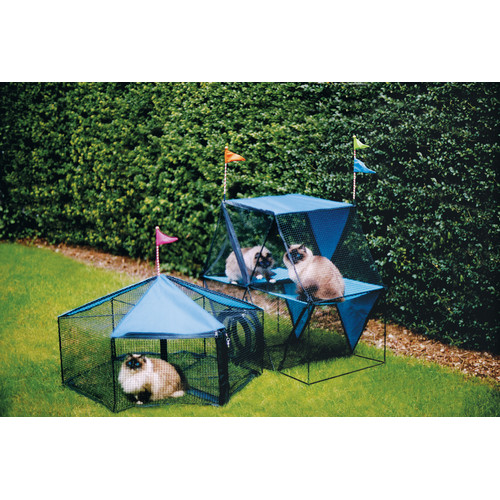 Kittywalk Systems The Carnival  Outdoor Pet Playpen