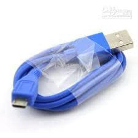 Micro USB Charger Cable (Blue) for Samsung i9300 Galaxy S3 SIII Xperia S HTC One X Blackberry NOKIA - image 4 of 4
