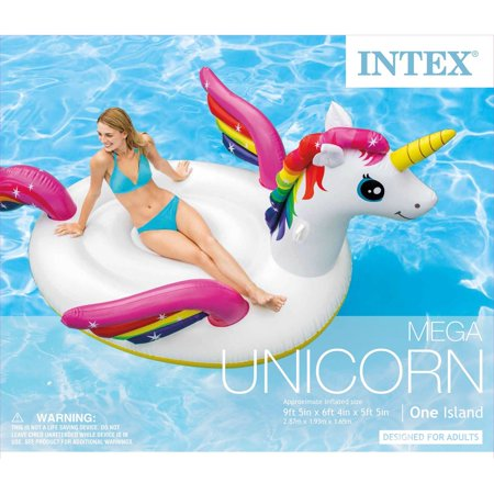 Intex Corp 57281Ep Mega Unicorn Island - image 2 of 5