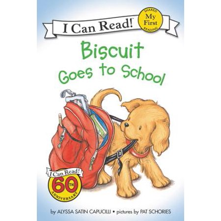 Biscuit Goes to School (Paperback) (The First Dog To Go To Space)