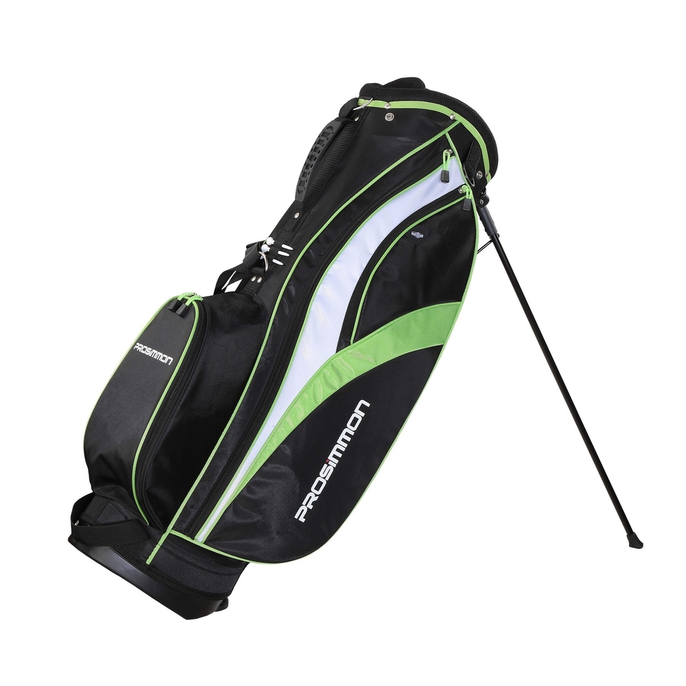 Prosimmon Golf Tour Stand Bag Black/Green