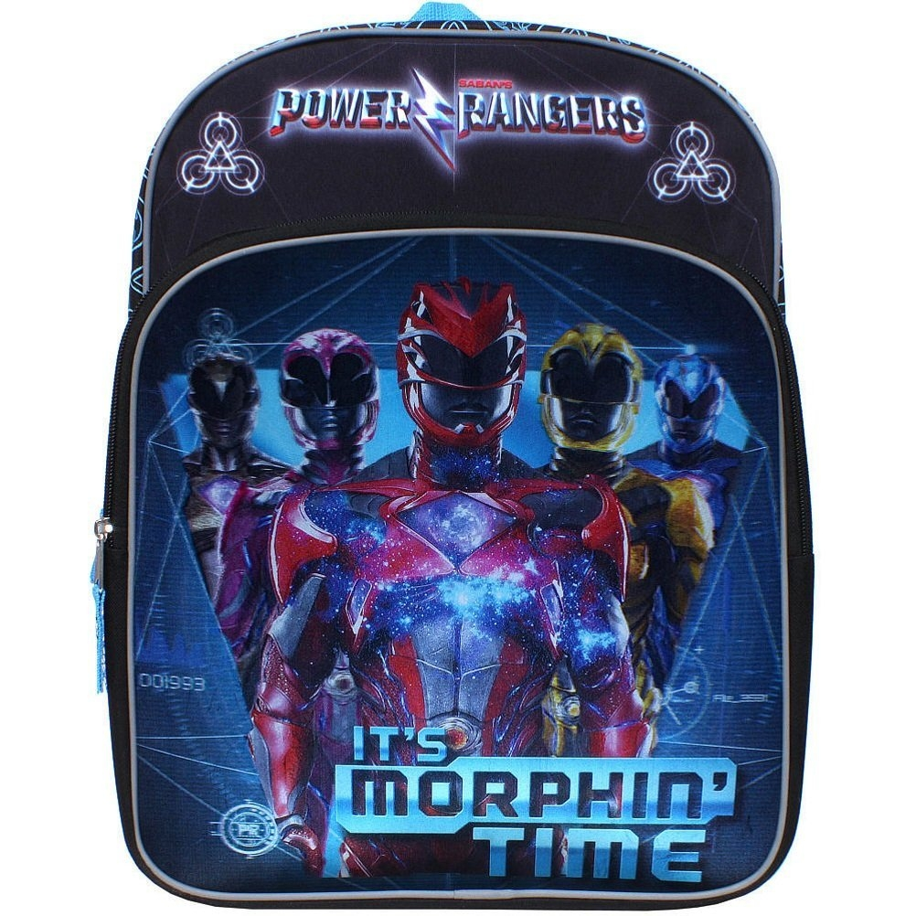 Power Rangers It's Morphin' Time 16 inch Backpack with Si...