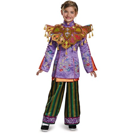 Asian Women Costume (Girls Ultra Prestige Alice Through The Looking Glass Asian)
