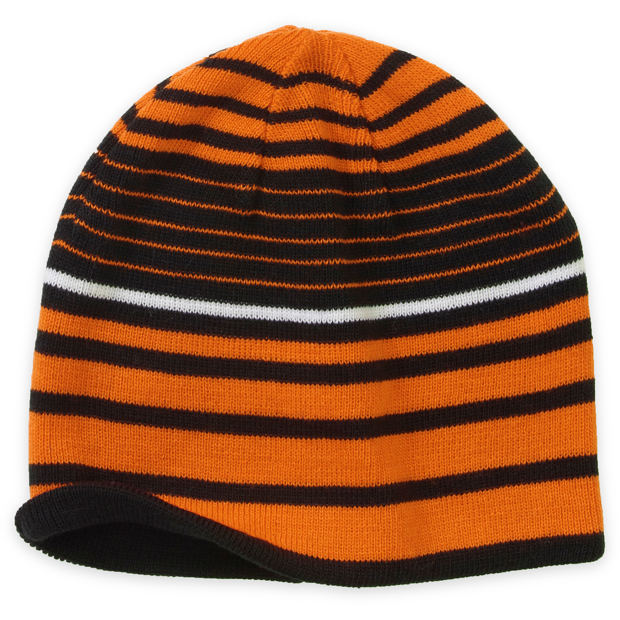 Cold Front Men's Reverseable Striped Beanie Hat
