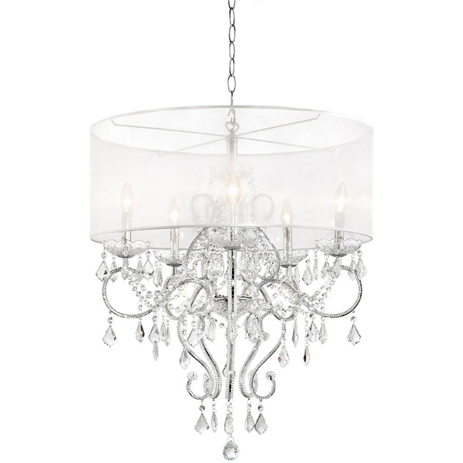 "31.5"" Evangelia Crystal Ceiling Lamp by Generic"