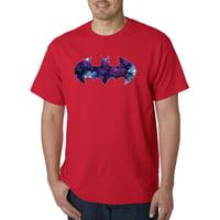 631 - Unisex T-Shirt Batman Dark Knight Galaxy Logo Parody