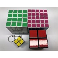Deals on 4-pack intellectual Rubiks Cube Game Brain Teasers