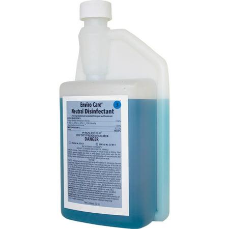 RMC, RCM12001214, Enviro Care Neutral Disinfectant, 1 Each, Blue
