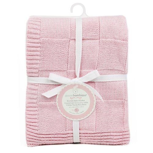 Harriet Bee Dillingham Checkered Knitted Baby Blanket
