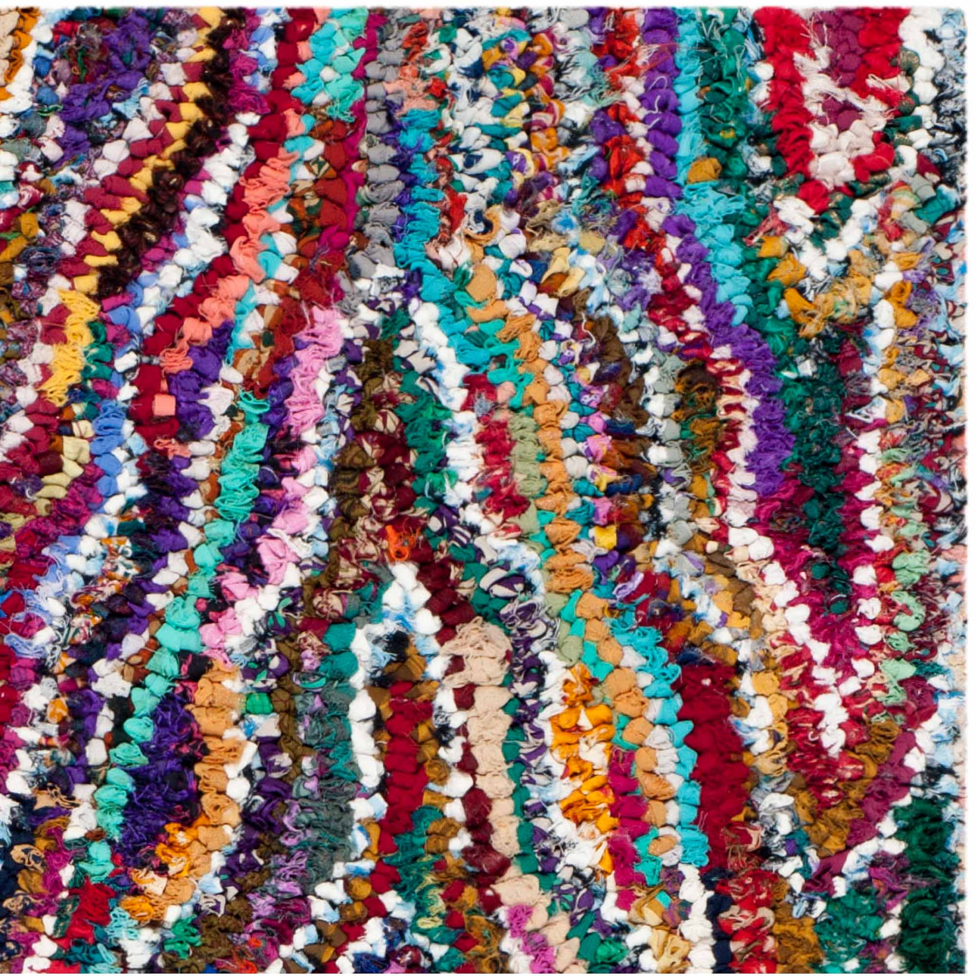 Safavieh Nantucket Amrita Hand-Tufted Cotton Area Rug, Multi-Colored