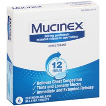 Cold & Flu: Mucinex 12-Hour Tablets