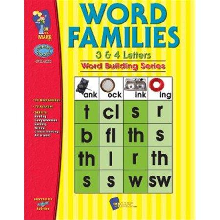 Sur la marque Presse OTM1860 familles de mots 3 et 4 Letter Words Gr. 1-3 - image 1 de 1