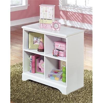 Kids Teens Ashley B102 16 Signature Design Casegoods Lulu Loft Bin Storage  White Furniture Istilo123337