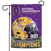 """Louisiana State University College Football 2019 National Champions 12"""" x 18"""" Two Sided Garden Flag"""