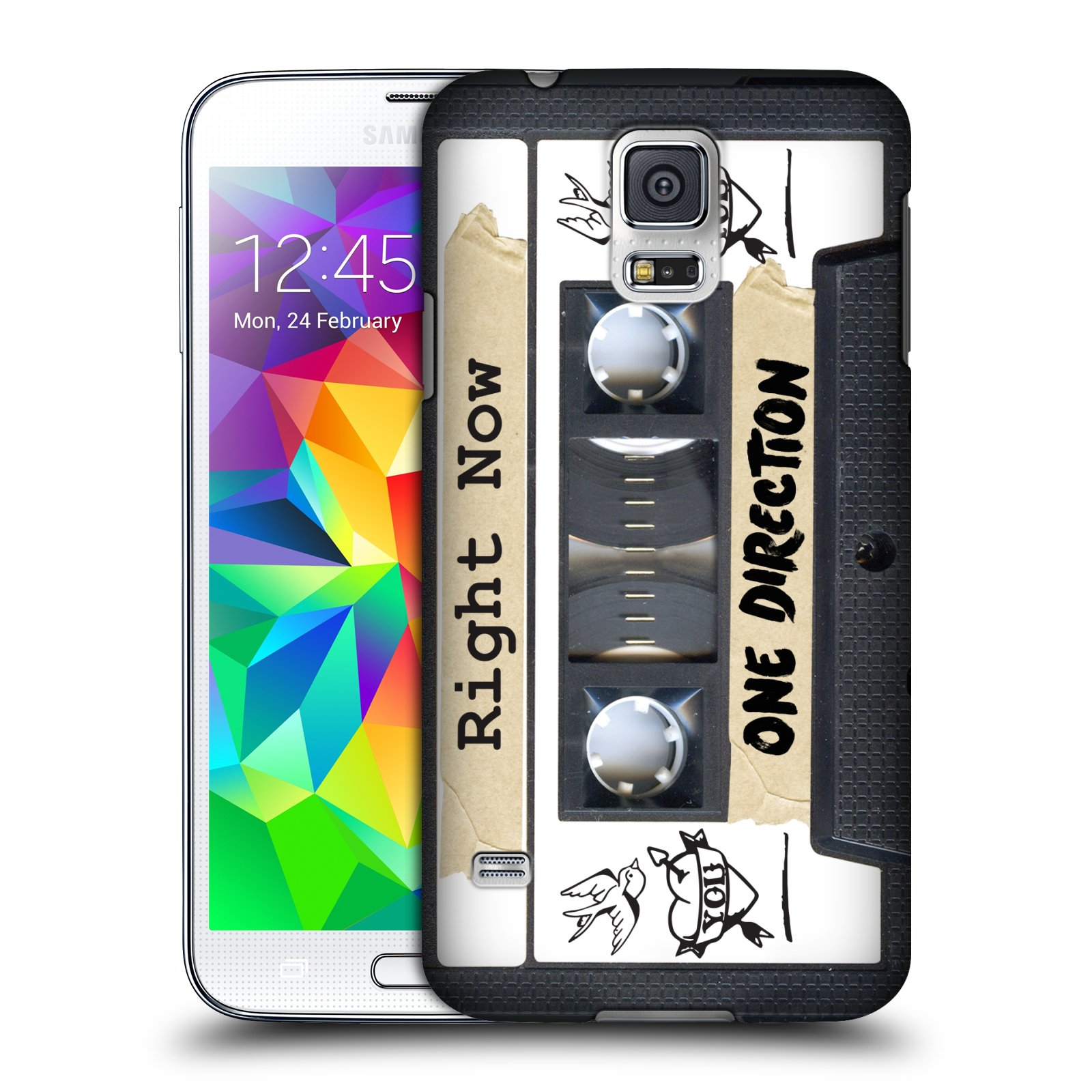 OFFICIAL ONE DIRECTION CASSETTES MIDNIGHT MEMORIES HARD BACK CASE FOR SAMSUNG PHONES 1