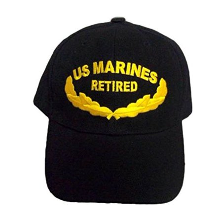 Brand New US Marines Retired Military Baseball Caps Hats Embroidered  (7506M33 ) 4ed3cafd9d1