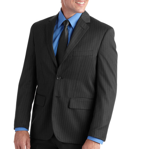 Men's Pinstripe Dress Jacket