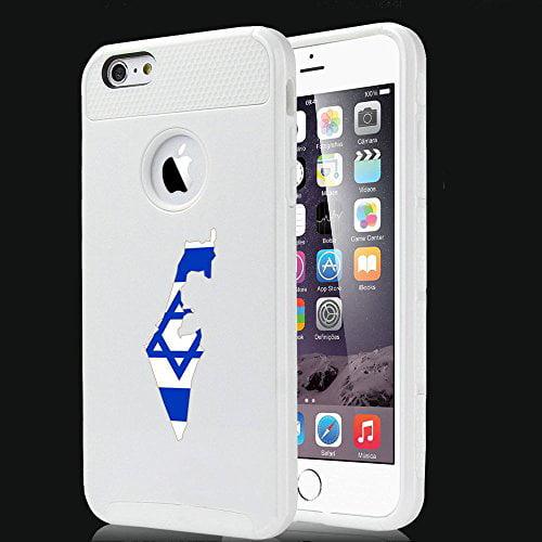 Apple iPhone SE Shockproof Impact Hard Soft Case Cover Israel Israeli Flag...