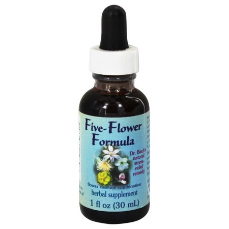 Flower Essence Services - Five-Flower Natural Stress Relief Formula - 1 oz. Aromatherapy Stress Relief Pillows