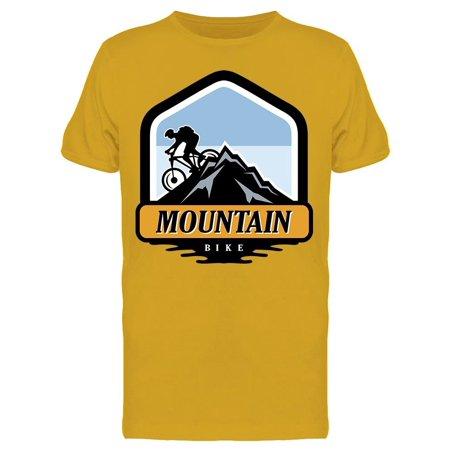 Mountain Bike Downhill Sport Tee Men's -Image by