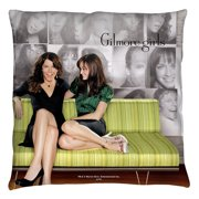 Gilmore Girls Couch Throw Pillow White 14X14