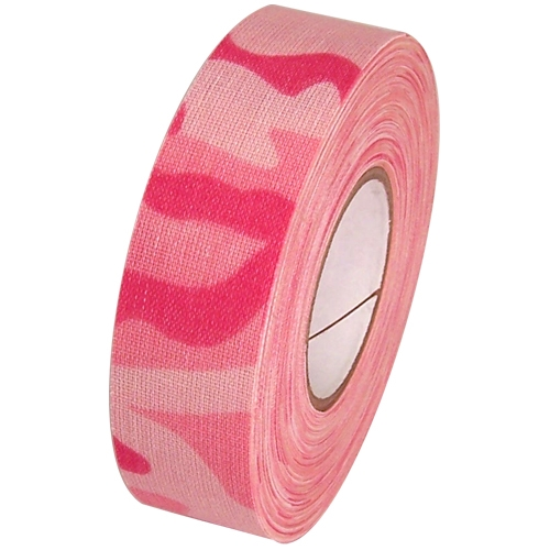 Camo Pink Cloth Hockey Stick Tape 1 inch x 20 yards